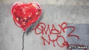 Banksy street art in New York