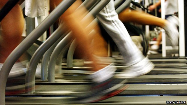 BBC News - Webscape: Making exercise a game
