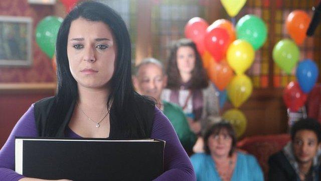 Dani Harmer as Tracy Beaker