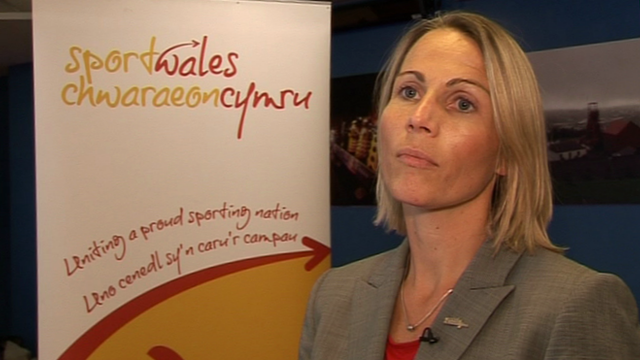 Sarah Powell, chief executive of Sport Wales
