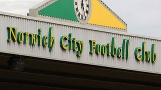 Norwich City stadium sign
