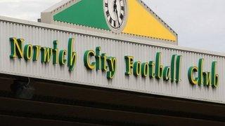 Norwich City stadium sign