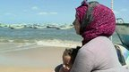 VIDEO: Syrian widow tells of boat migration