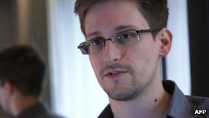 Photo of Edward Snowden taken in June 2013