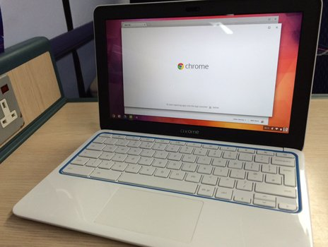 The new HP Chromebook