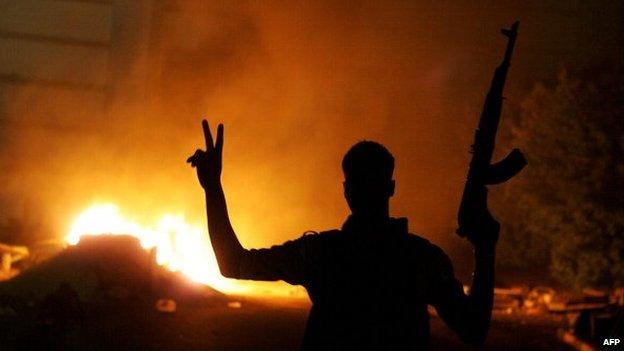 Libyan gunman