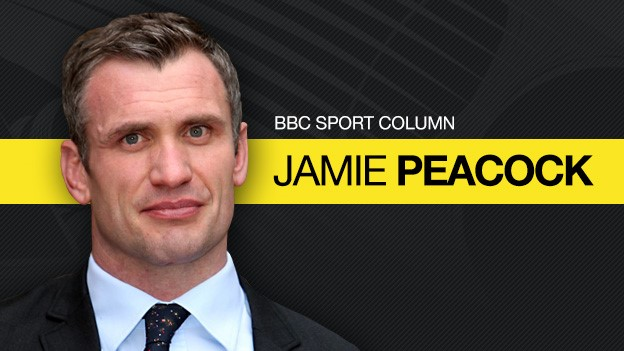 Former Great Britain and England forward Jamie Peacock