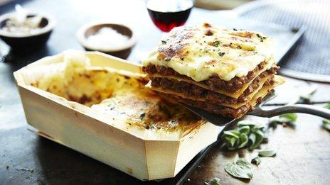 Charlie Bigham's lasagne