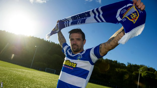 Nacho Novo has signed for Morton