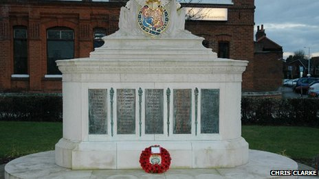 Walton-on-Thames war memorial