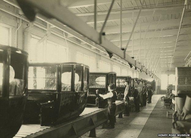 Assembly line 1923