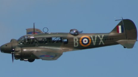 Restored Avro Anson Mk I in flight (Pic: L-Bit)