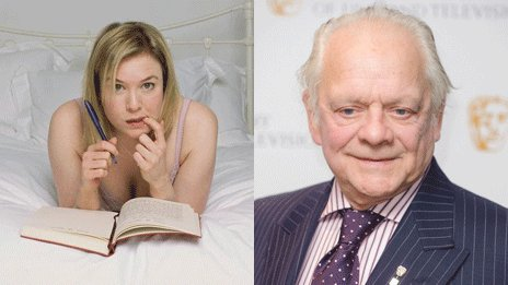 Bridget Jones and Sir David Jason