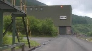 Unity Mine in Cwmgwrach