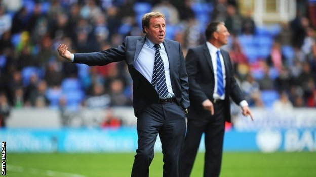 Harry Redknapp says English children are not playing enough football