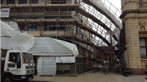 Great Yarmouth scaffolding collapse