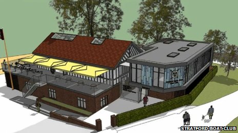 Stratford-upon-Avon Boat Club plans
