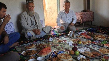 Tajik funeral feast