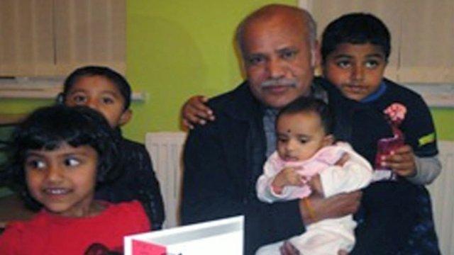 Vairamutha Thiyagarajah and his family