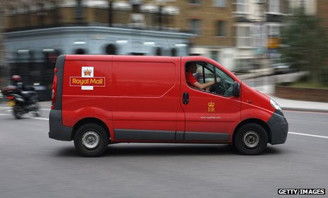Royal Mail van