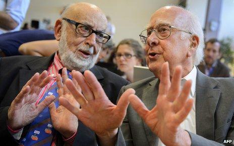 Englert and Higgs