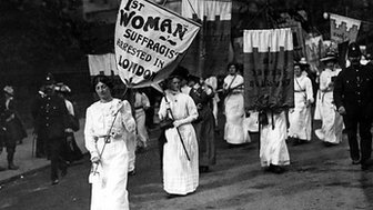 Suffragettes in the UK