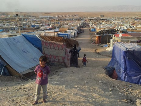 Domiz refugee camp