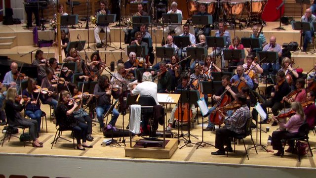 BBC Scottish Symphony Orchestra perform the Queen's Baton Relay theme
