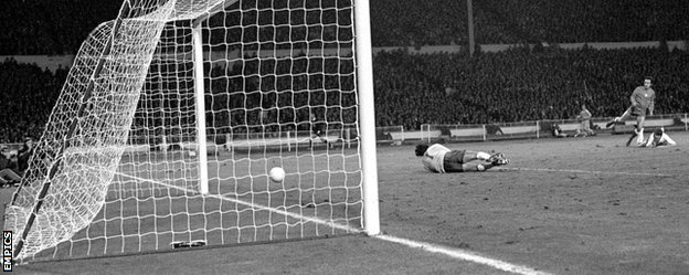 Jan Domarski's shot slid past Peter Shilton on a greasy pitch