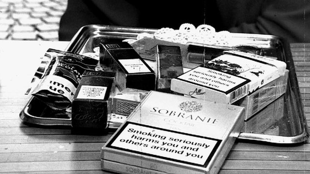 French cigarette packets