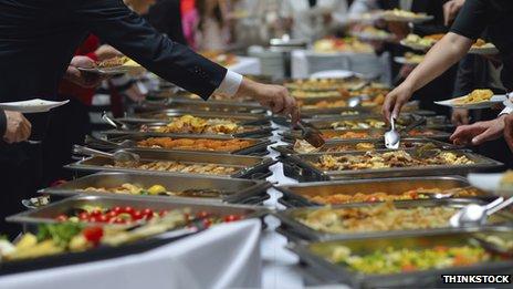 Smorgasbord buffet