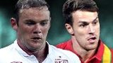 Wayne Rooney, Aaron Ramsey