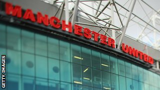 Old Trafford, Manchester United's stadium