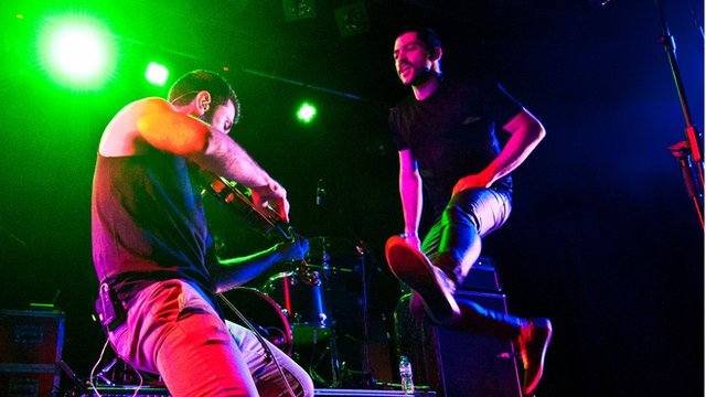 Mashrou' Leila on stage