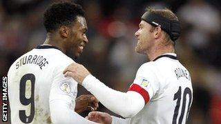 Daniel Sturridge & Wayne Rooney