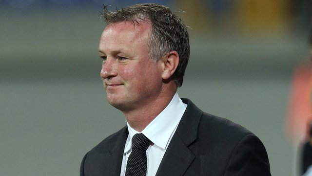 Michael O'Neill's Northern Ireland team lost 2-0 in Azerbaijan