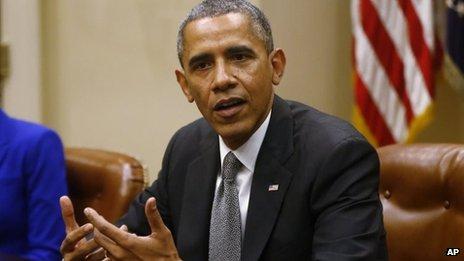 President Barack Obama (11 October)