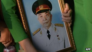 Picture of Gen Vo Nguyen Giap