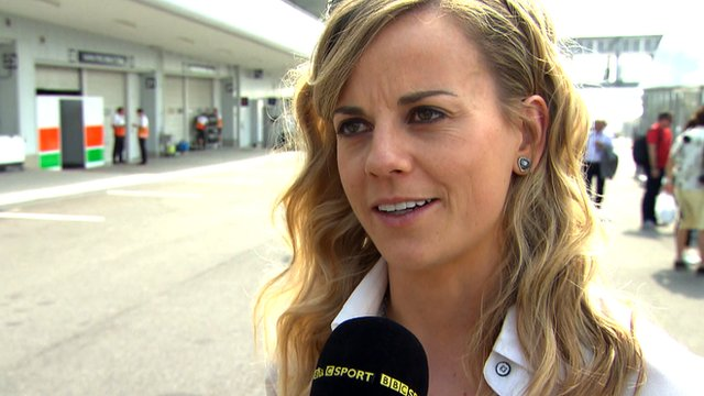 Williams reserve driver Susie Wolff discusses the death of Maria De Villota