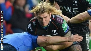Richard Hibbard is halted