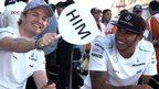 Nico Rosberg and Lewis Hamilton discuss their friendship