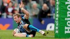 Exeter Chiefs romp into an early lead in their Heineken Cup match against Cardiff Blues, with winger Matt Jess scoring one of four tries for the home side