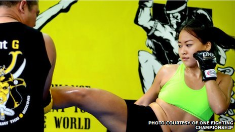 Singaporean cage fighter Sherilyn Lim