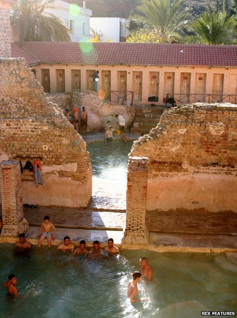 Baths at Khenchela