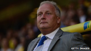Former Bury manager Kevin Blackwell