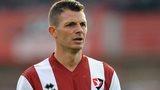 Cheltenham striker Jamie Cureton