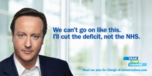 Conservative party poster