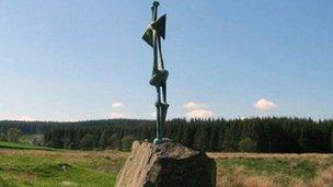 Standing Figure sculpture