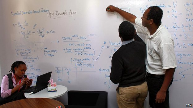IBM lab