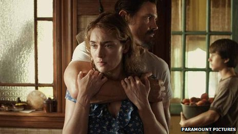 Kate Winslet and Josh Brolin in Labor Day